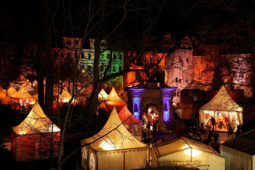 Heidelberger Schlossweihnacht - die schönsten Weihnachtsmärkte Deutschlands