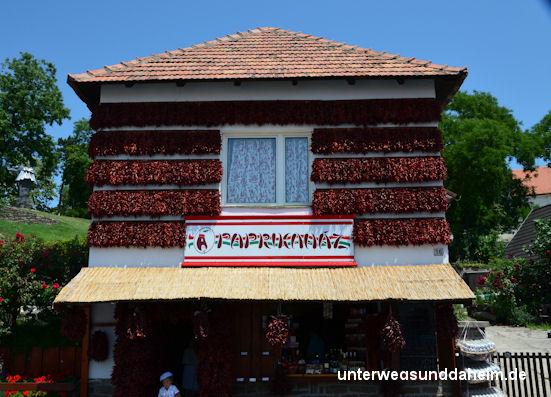 Tihany Plattensee Balaton - malerische Dörfer