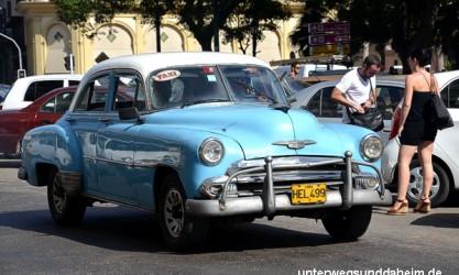 Havanna Oldtimer Unterwegs & Daheim