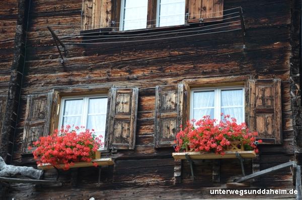 Splügen in Graubünden - malerische Dörfer
