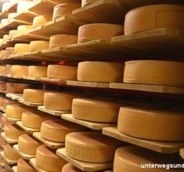 Käse von den Graubündner Almen