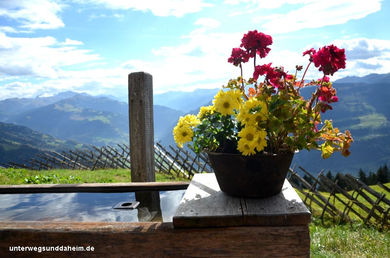 Herbst in den Schweizer Bergen