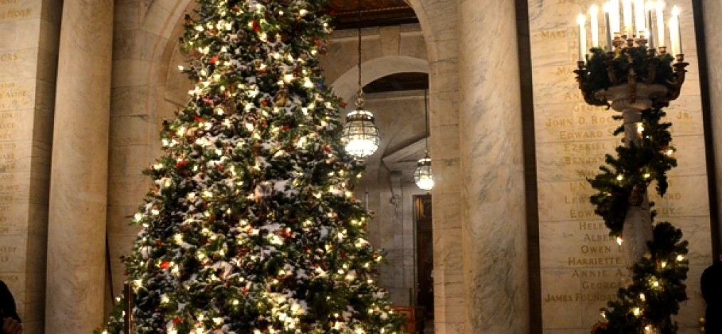 Christmas Shopping in New York