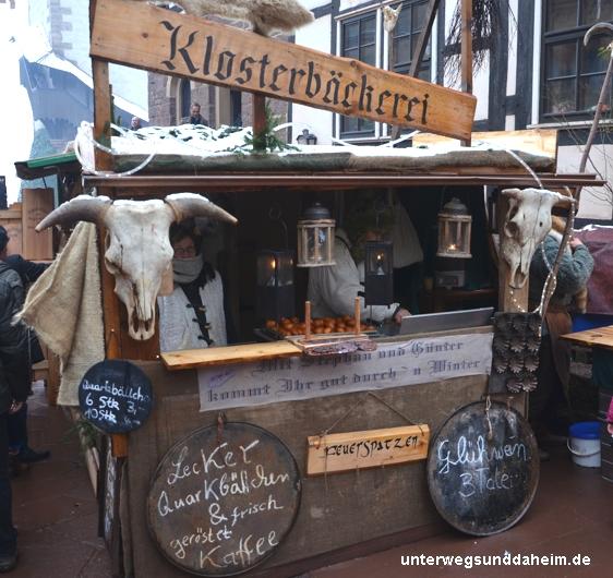 Mittelalterlicher Weihnachtsmarkt auf der Wartburg