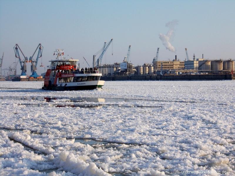 Hamburg im Eis