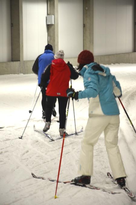 DKB Skisporthalle: Langlaufen Oberhof im Thüringer Wald