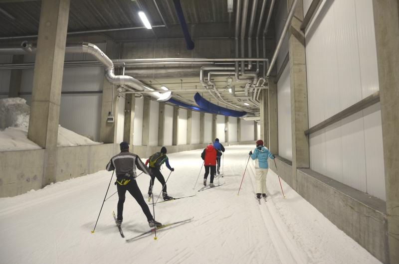 DKB Skisporthalle: Langlaufen in Oberhof