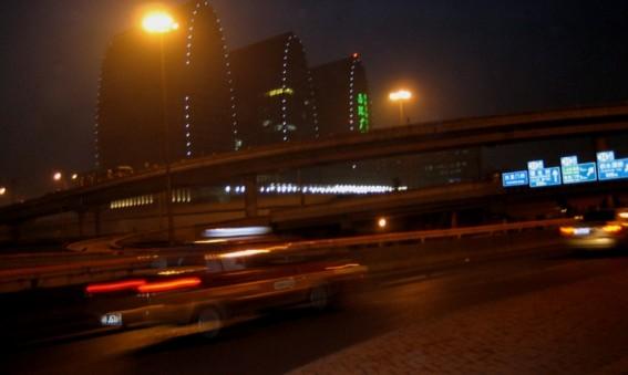 Taxifahren in Peking
