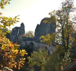 Elbsandsteingebirge in der Sächsischen Schweiz - Bastei