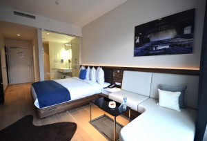 Standardzimmer im Radisson Blu Old Mill Belgrad