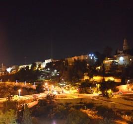 Jerusalem by night - eine Radtour durch das nächtliche Jerusalem
