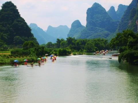 UNESCO Weltnaturerbe China: Karstlandschaft in China