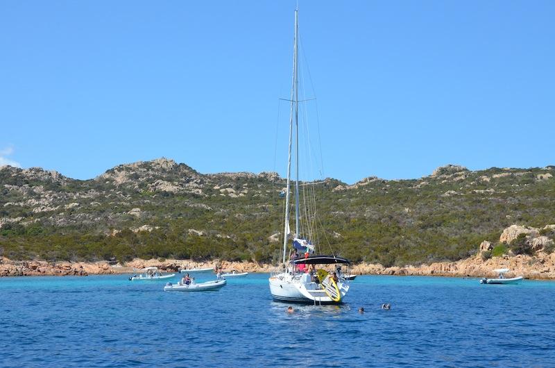 Segeln in Sardinien La Maddalena Insel Archipel - die schönsten Inseln in Europa