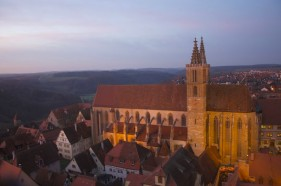 Rothenburg ob der Tauber Reiterlesmarkt Weihnachtsstadt