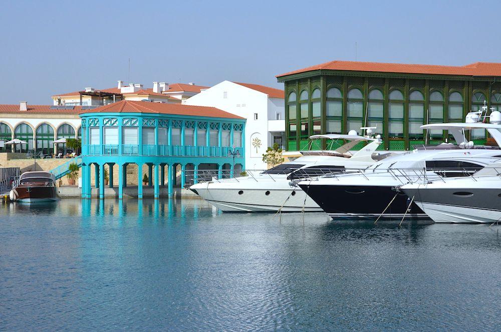 Zypern Limassol Jachthafen