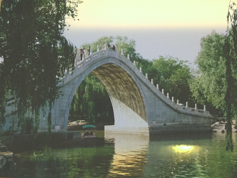 UNESCO Weltkulturerbe: kaiserlicher Sommerpalast Peking