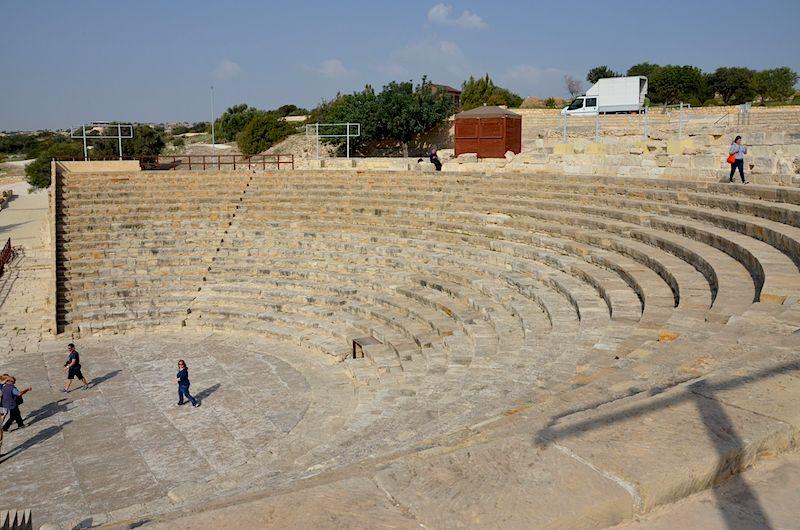 Archäologische Park Paphos und Ausgrabungstätte in Kurion