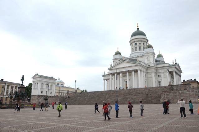Midsummer in Helsinki Finnland