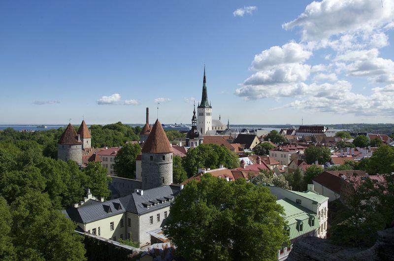 Midsummer in Estland Tallinn
