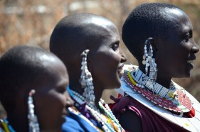 Massai Dorf in der Serengeti