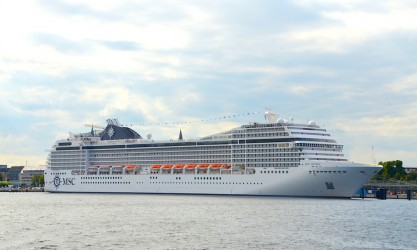 MSC Kreuzfahrt mit der MSC Musica auf der Ostsee