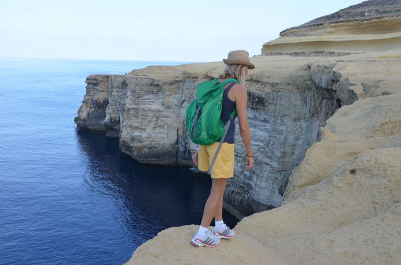 Gozo Highlights - Klippenwanderung