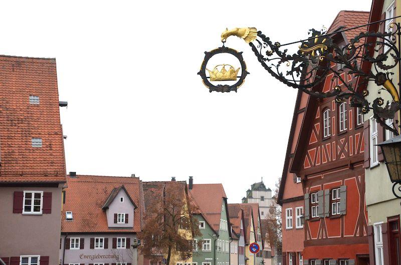 Dinkelsbühl in Franken - Weihnachtsmarkt Dinkelsbühl