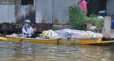 Bootstour durch die Klongs von Thonburi in Bangkok