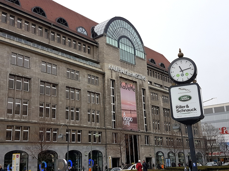 Best of Berlin - Highlights von Berlin - Kaufhaus des Westens