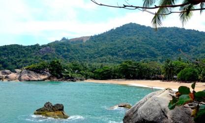 Hippie auf Teilzeit in den Mai Pen Rai Bungalows auf Koh Phangan - Than Sadet Bucht