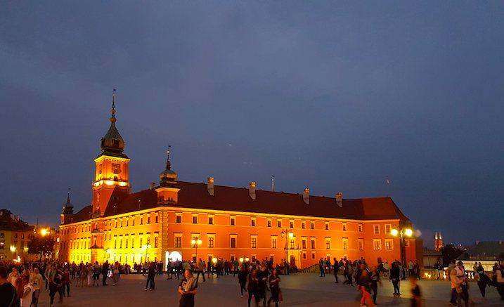 Städtetrip Warschau: Warschau Altstadt