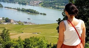 Rüdesheim am Rhein im Rheingau