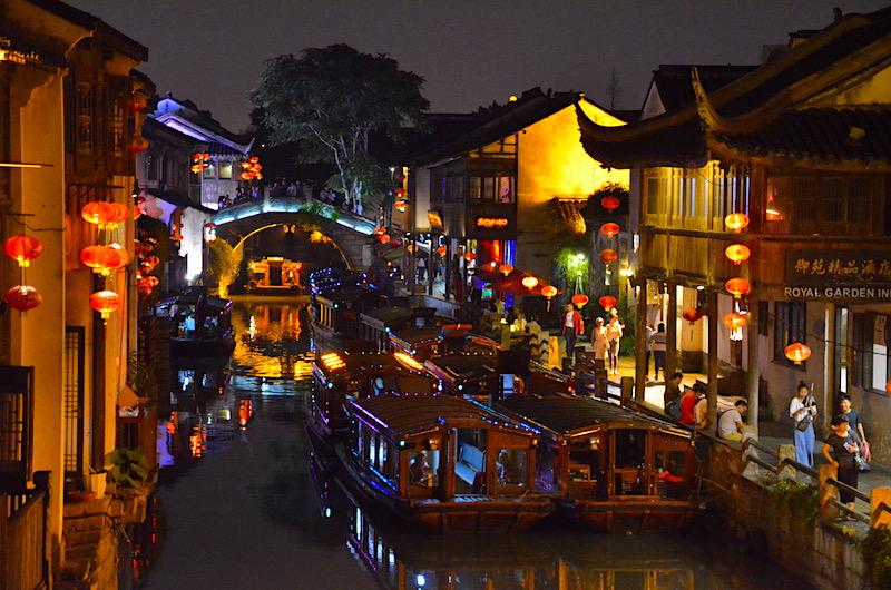 unterwegs in Suzhou und Zhou Zhang