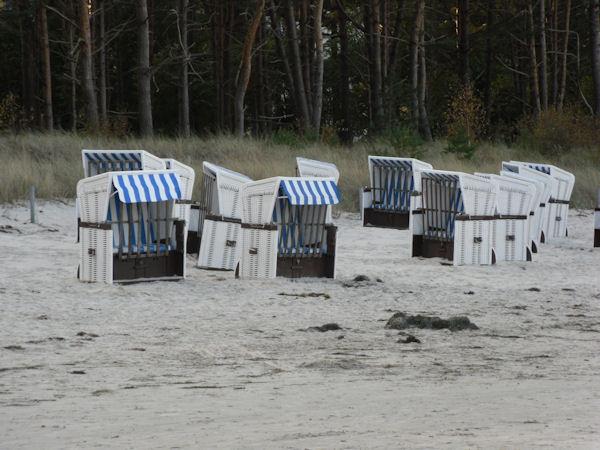 Saisonende Ende Oktober auf Rügen