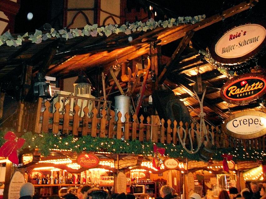 unterwegs & daheim Weihnachtsmarkt-Check: empfehlenswert - Raclette-Brötchen