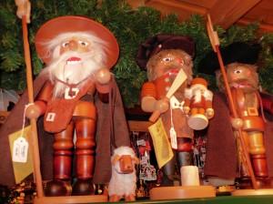 Kunsthandwerk aus dem Erzgebirge auf dem Frankfurter Weihnachtsmarkt