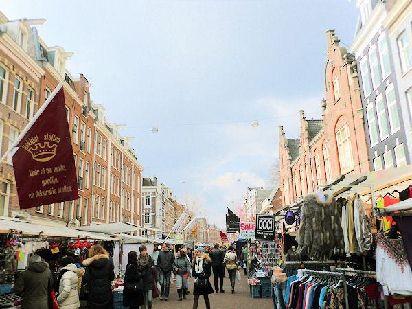 Die schönsten Märkte von Amsterdam