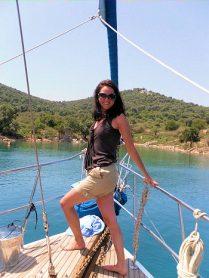 Nicole auf Reisen