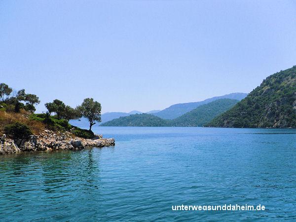 Blaue Reise in der Türkischen Ägäis