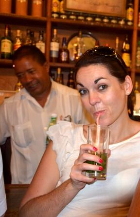 Hemingway Bars Havanna: La Bodeguita del Medio - Mojito
