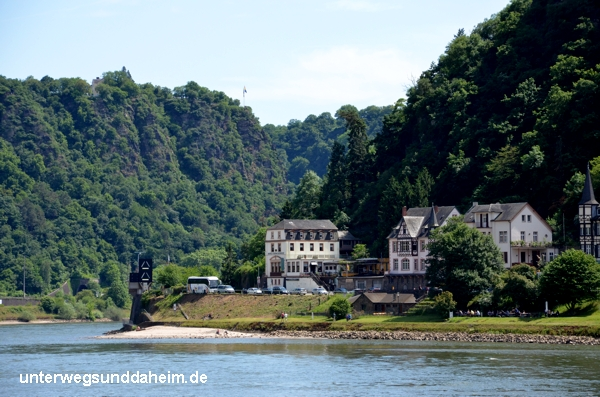 Loreley-Felsen bei St. Goarshausen am Rhein