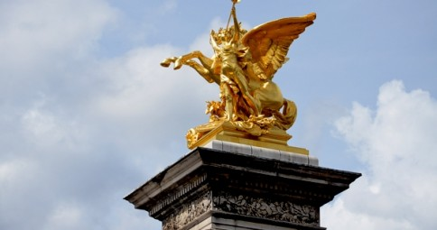 UNESCO Weltkulturerbe Ufer der Seine in Paris