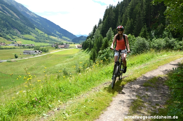 Mountainbiken in Ratschings in Südtirol