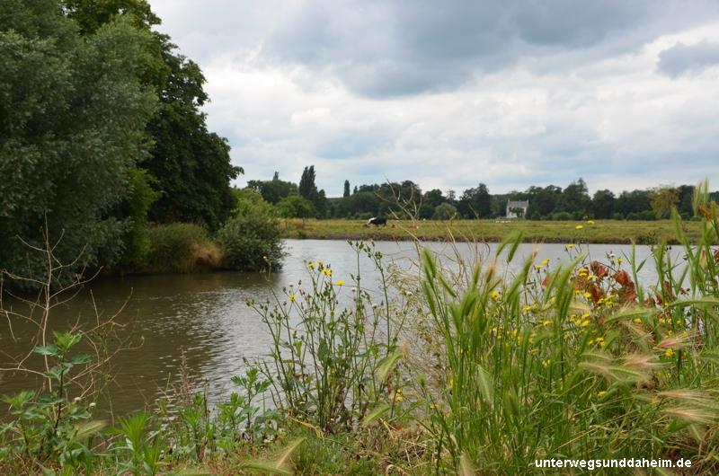 Radtour von Gent entlang der Leie