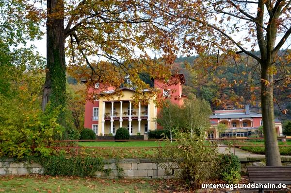 Parkhotel Bad Schandau in der Sächsischen Schweiz