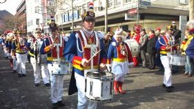 Mainzer Fastnacht - Parade der närrischen Garde