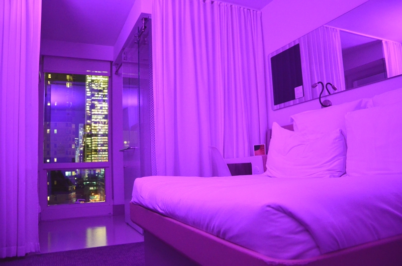 Yotel at times square new york hotelbericht for Stylische hotels