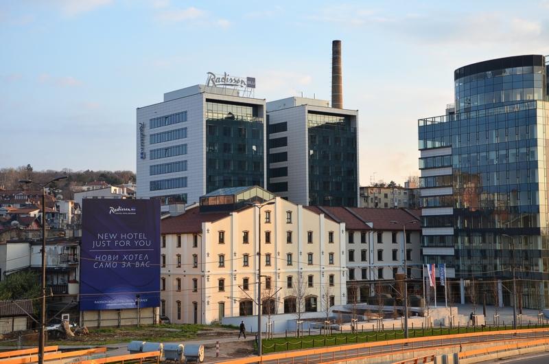 unterwegsunddaheim.de Radisson Blu Old Mill Belgrad Serbien