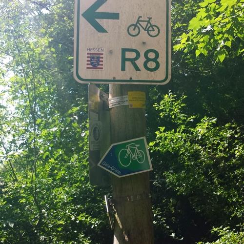 unterwegsunddaheim.de Grüngürtelradweg durch den Frankfurter Stadtwald