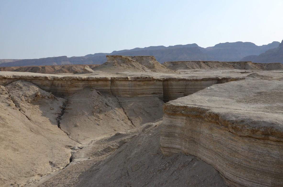 Die Wüste Negev am Toten Meer